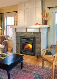 wood burning inserts for zero clearance fireplaces decor idea