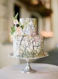 elegant fall wedding colors cake once wed