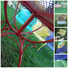 How To Paint Wrought Iron Patio Furniture by Paint Colors For Wrought Iron Patio Furniture Modern Patio U0026 Outdoor