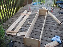 big diy deck planter timandmeg net