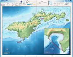 Marin Map Map Of Tutuila Island American Samoa Nations Online Project