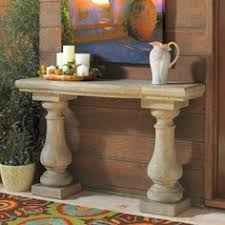 Patio Sideboard Table Elle Stonecast Console Table Console Tables Consoles And Stone