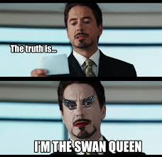 Black Swan Meme - being norma jeane failed epiphanies and swan queens