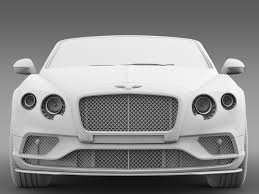 bentley 2015 bentley continental gt v8 s convertible 2015 by creator 3d 3docean