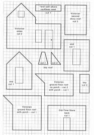pattern for large gingerbread house page 001 gingerbread house patterns paper