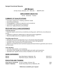Hospitality Cv Example Example Of Waiter Resume Free Resume Example And Writing Download