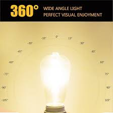 amazon com leadleds 6w edison style vintage led filament light