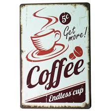 Coffee Wall Decor For Kitchen Compare Prices On Metal Wall Art Kitchen Online Shopping Buy Low