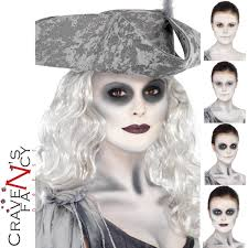 zombie ghost ship make up kit pirate face paint halloween fancy