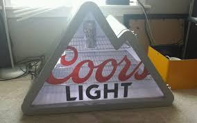 coors light beer fridge coors light beer fridge coors light mountain mini fridge with led