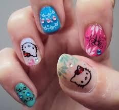 211 best nail designs hello kitty images on pinterest hello