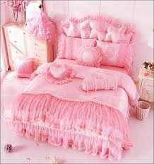 Pink Full Size Comforter Bedroom Amazing Pink Pleated Comforter Set Victoria Secret