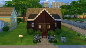 sims 4 block party challenge cozy cabin the legacy haammss