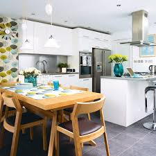 kitchen diner flooring ideas kitchen flooring ideas to give your scheme a new look
