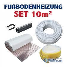 fußbodenheizung badezimmer 10m fußbodenheizung set rolljet aluverbundrohr randband