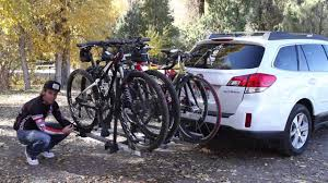 Subaru Forester 2014 Roof Rack by Subaru And Thule Bike Rack Review Youtube