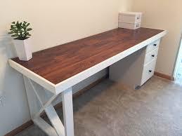 desk ideas diy alluring 20 diy office desk design inspiration of best 25 diy