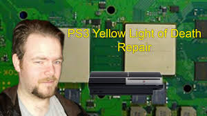 ps3 yellow light of death fix playstation 3 ylod repair yellow light of death youtube