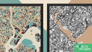 World Map Prints by Modern Map Art Prints By Mini Cloud Studios U2014 Kickstarter