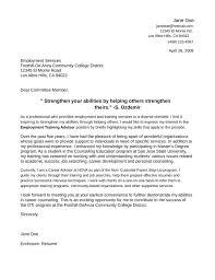 career advisor cover letter careers adviser cover letter example