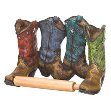 Decorative Toilet Paper Holders Cowboy Boots Toilet Paper Holder Wholesale At Koehler Home Decor