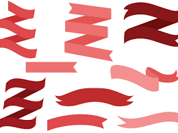 ribbons and bows free ribbon bows 2 vectors vector graphics freevector