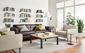 room and board leather sofa ian leather sofa with holmes chairs modern living room furniture