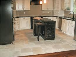 creative porcelain floor tiles kitchen decor idea stunning