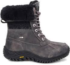 ugg australia womens black grey adirondack boots ugg s adirondack boot ii free shipping free returns