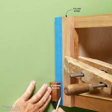 What Height To Hang A Picture How To Install Cabinets Like A Pro U2014 The Family Handyman