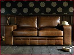 canape rustique canapé marron vieilli 110777 canape cuir bois rustique archives