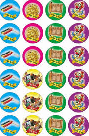 240 small purim stickers heb4u all your kids need to study