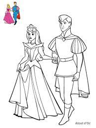 Impressionnant Coloriage De Aurore Belle Au Bois Dormant Walt Disney