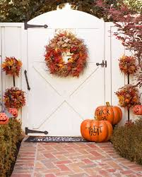 autumn acorn wreath and topiary balsam hill