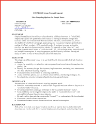 simple sales proposal template simple proposal memo example