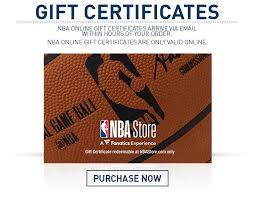 online gift certificates nba gift cards online gift certificates nbastore