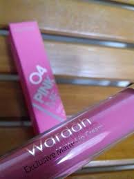 Wardah Matte Lipstick review wardah exclusive matte lip swatch ivanaanaztasia