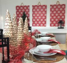 Cool Wall Decorations Diy Christmas Décor Easy Holiday Wall Art Utr Déco Blog