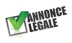 annonce l ale changement si e social l annonce légale de modification des statuts entreprises et droit