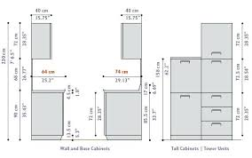 Standard Kitchen Cabinet Height Above Counter Cabinet Size Table - Standard kitchen cabinet