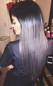jenner hair extensions jenner goes gray with new ombré hair extensions see the look