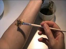 anleitung schablone herstellen für henna tattoos 2 youtube