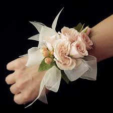 pink corsage classic blush pink wrist corsage in westwood ks the