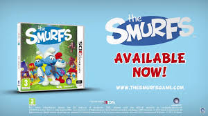 ubisoft releases smurfs game 3ds europe nintendo