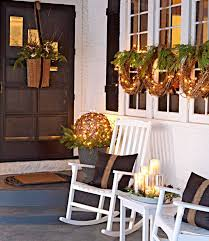 easy front porch holiday decorations midwest living house