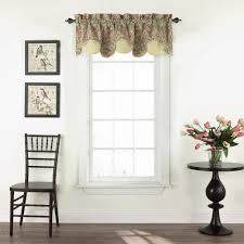 Black Window Valance Waverly Swept Away Window Valance Walmart Com