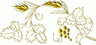 design embroidery christian symbols