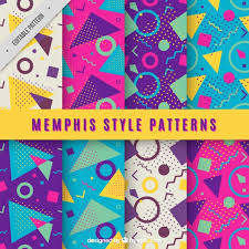 16 free 80s vectors patterns electronics and people hipsthetic