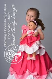 free sewing tutorial cinderella dress princess dress