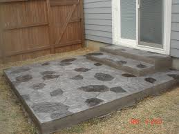 Cement Patio Designs Backyard Cement Patio Contractors Cement Patio Cost Simple